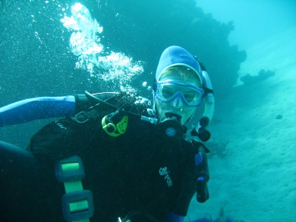 Me Diving with Poseidon in 2007