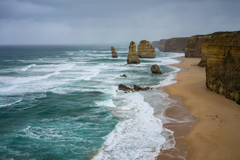 A Stormy Day at the 12 Apostles
